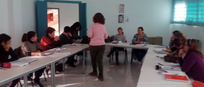 Alumnas curso Competencias Civicas y Sociales