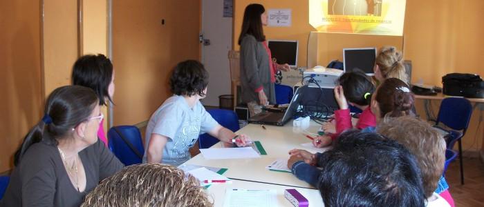 Alumnas del curso emprendimiento en La Rioja